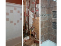 Bath Ceramic Tile Tub Remodeling Harford and Baltimore County Maryland